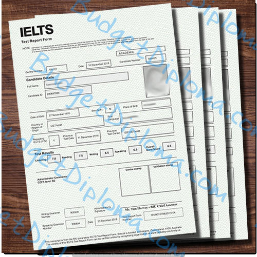 Fake IELTS certificates